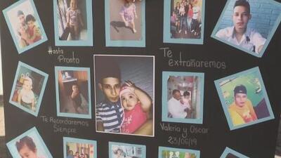 Conmoción en El Salvador durante el último adiós al padre y la hija que murieron cruzando el Río Grande
