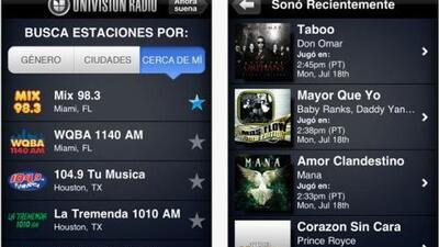 Nueva app Univision Radio para tu iPhone
