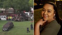 Encuentran el auto de Erica Hernández en un estanque de Pearland con un cuerpo dentro: lo que se sabe