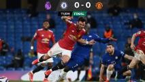 Manchester United no puede con Chelsea y se aleja del City