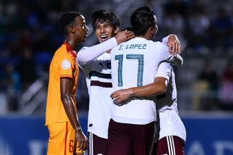 En fotos: México pulveriza a Granada en el Premundial Sub 20 al vencerla por 8-0