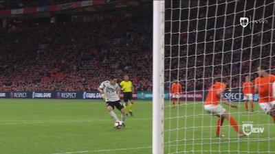 Agónico: Nico Schulz, en el último minuto, anota el 3-2 para Alemania