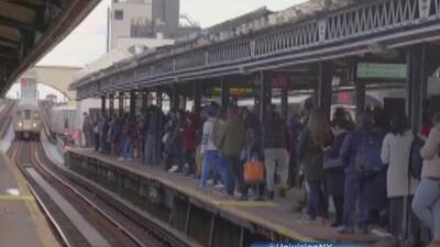 Empieza el cierre de la estación de trenes en Astoria Boulevard y algunos usuarios están preocupados