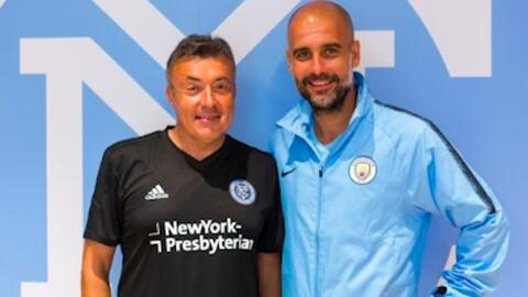 Domènec Torrentt, una historia de fútbol contada por su 'mentor' Pep Guardiola