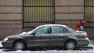 Potencial acumulación de nieve en el área de Chicago este domingo
