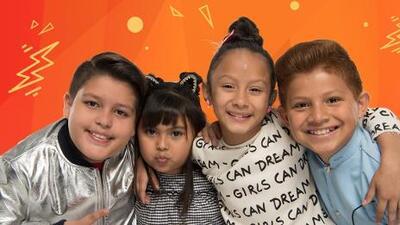 Los Súper Powers: Natalia Gómez, Rodrigo Pérez 'Canelito', Jazlyn Quintero y Aramis Ojeda