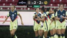 Con un empate en el Akron, América se clasificó a Semifinales de la Liga MX Femenil