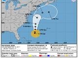 El huracán José continúa su recorrido hacia el noreste de EEUU