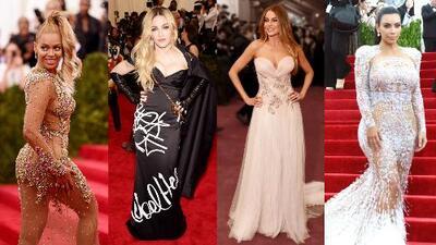 Mira el look de Madonna, Sofía, Beyoncé y Kim en la Gala del MET