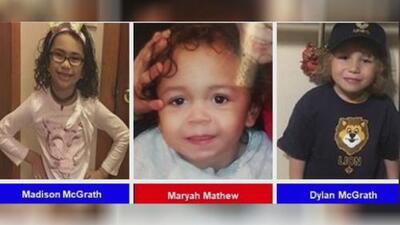 Se emite Alerta Amber por la desaparición de tres niños que pueden estar en manos de dos sospechosos