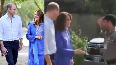 Kate Middleton protagoniza incómodo momento al querer saludar de mano a un soldado en Pakistán