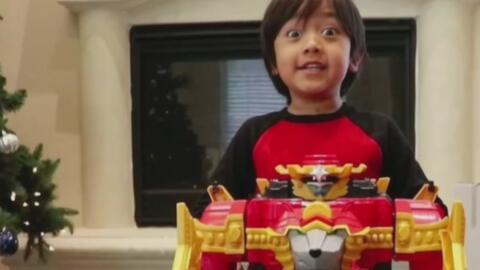Este niño de 7 años es el Youtuber mejor pagado de 2018 según la revista Forbes