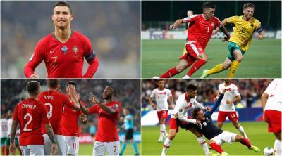 Resultados de la Jornada 8 en las Eliminatorias rumbo a la Euro 2020