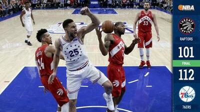 Los 76ers llevan la serie ante los Raptors al séptimo juego