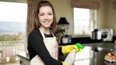 Casa limpia en cinco pasos