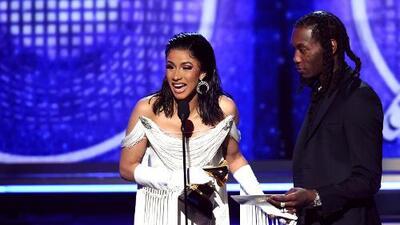 Cardi B, la primera mujer solista en ganar el Grammy a mejor disco de rap