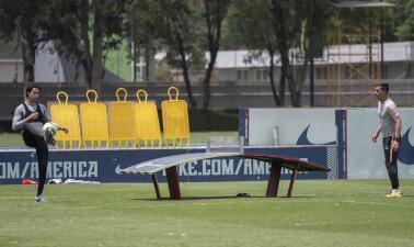 Así es la preparación de América para su choque contra Xolos en la Copa MX