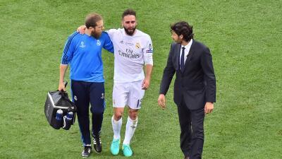 Dani Carvajal se perderá la Eurocopa con España por lesión