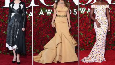 Fashionometro: El glamour de la alfombra roja de los Tony Awards