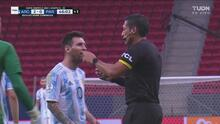 ¡Se le anula gol a Argentina por fuera de lugar de Messi!