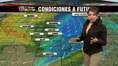 Clima para el jueves en el área de Chicago