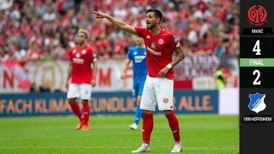 El Mainz le arrebata de tajo las ilusiones europeas al Hoffenheim
