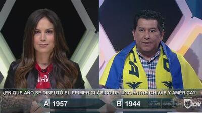 Especial Clásico Nacional: ¿en qué año se disputó el primer clásico de liga entre Chivas y América?