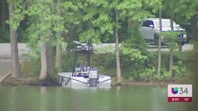 Recuperan cuerpo de una de las víctimas de accidente de bote en Lake Lanier