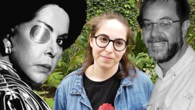 """Exclusiva: Nieta de María Rubio revela que Televisa le da """"la calma de un hogar"""" después de la muerte de su padre y su abuela"""