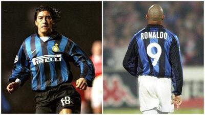 Por culpa del 'Fenómeno' nació el 1+8 del 'Bam Bam' Zamorano en el Inter