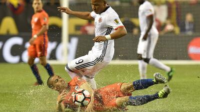 Chile derrotó 2-0 a Colombia y jugará con Argentina la final de la Copa América Centenario