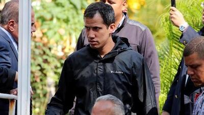 """Juan Guaidó califica como """"secuestro vil y vulgar"""" la detención de su jefe de despacho"""