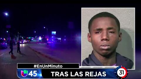 En Un Minuto Houston: Arrestan a sospechoso de disparar desde un auto y herir a un niño de 8 años, quien luego murió