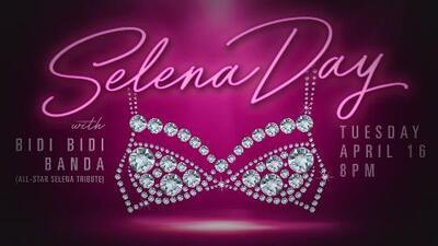 Homenaje a Selena en Plano con la Bidi Bidi Banda