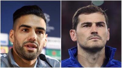 Iker Casillas y Radamel Falcao calientan en redes sociales el Porto-Mónaco de Champions
