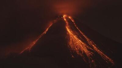 Evacuación por erupción del Volcán de Fuego