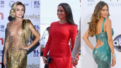 Angelique Boyer no está sola: estas famosas tampoco tuvieron suerte con sus vestidos (y un pantalón)