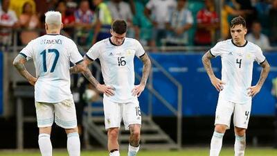 ¡Fin de las rachas! Los estragos que causó la derrota de Argentina ante Colombia