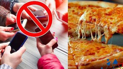 Pizzería en California dará descuentos a familias que no usen sus celulares