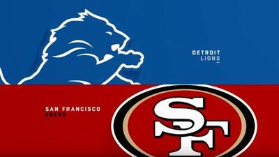 Highlights: Detroit Lions 27-30 San Francisco 49ers | Semana 2