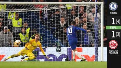 The British Empire is back! Chelsea venció al Eintracht y está en la final de Europa League