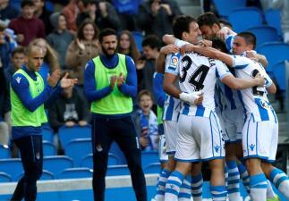 En fotos: Héctor Moreno fue titular en el triunfo de Real Sociedad contra Getafe en España