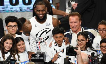 Estos son los reservas quienes también participarán en el NBA All Star Game 2019