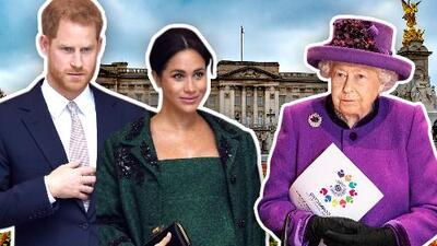 La reina Isabel II habría frenado intento de Meghan Markle y el príncipe Harry de registrar la 'marca Sussex'