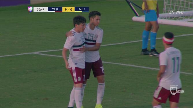 ¡La cuenta aumenta para México! Alexis Gutiérrez pone el 9-0