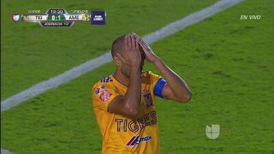 ¡La que se perdió Pizarro! 'El Conde' no logró poner la igualada para Tigres