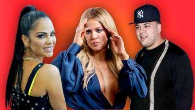 Khloé Kardashian no sabe quién es Natti Natasha y en público le reclama a su hermano Rob