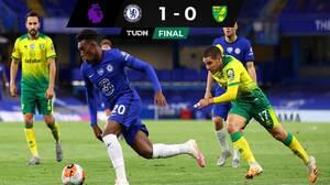 Chelsea sufre para vencer al Norwich pero sueña con Champions