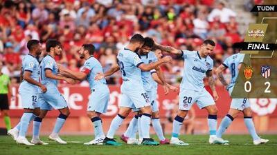 Sin Héctor Herrera, el Atlético derrotó al Mallorca