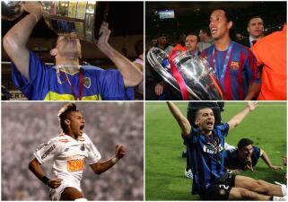 Tevez, Ronaldinho, Neymar: los ilustres que han ganado la Libertadores y la Champions